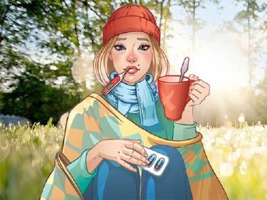 Утром шанс заразиться гриппом или герпесом в 10 раз выше, чем вечером