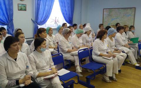 7 декабря 2016 г.в ГАУЗ РКИБ прошел обучающий семинар для медицинских сестер по теме: «Организация оказания неотложной помощи»