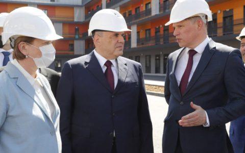 Премьер-министр России Михаил Мишустин прибыл в Татарстан